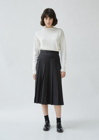 Fade Out Pleat Skirt