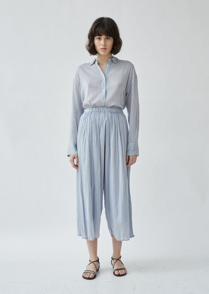 Cotton & Silk Voile Pants
