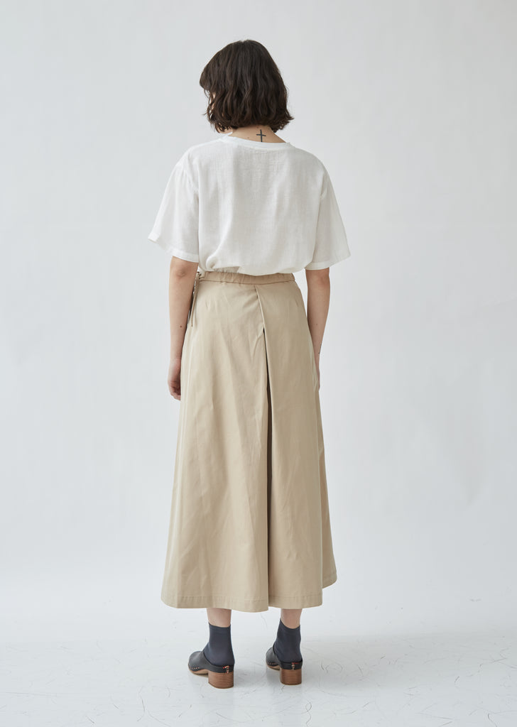 Iridescent Twill Hakama Pants