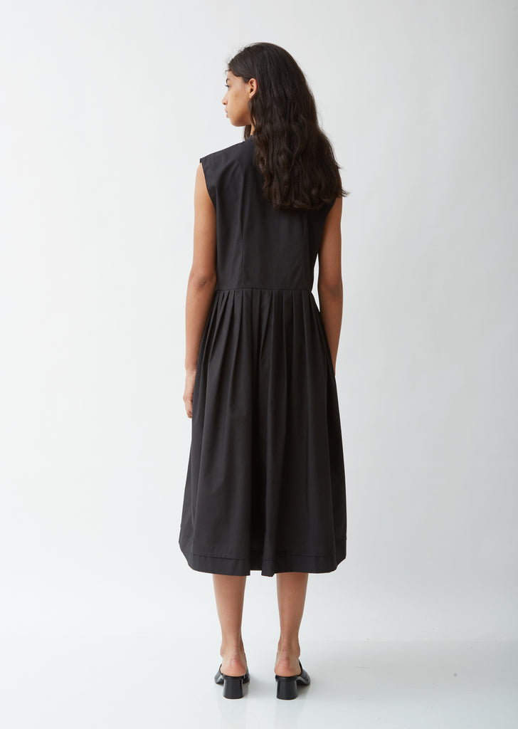 Sleeveless  Smock Dress