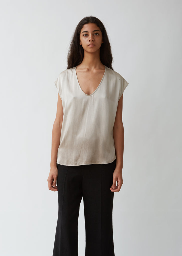 Perfect Silk Shell Top