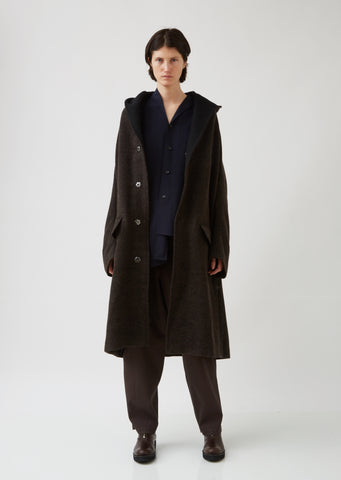 U-Design Slv Hood Coat