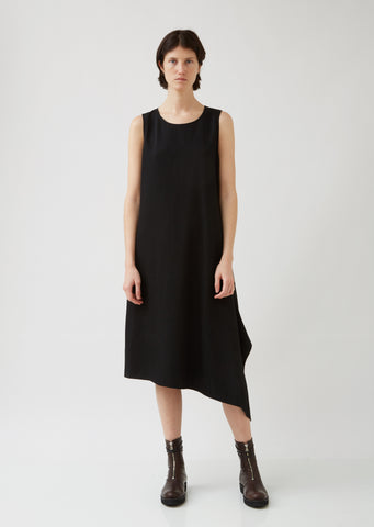 O-Asymmetrical Sleeveless Dress
