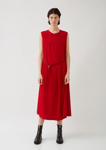 N-F Pleats Long Dress