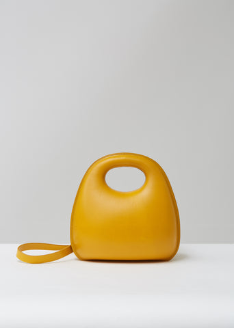 Vegetable Leather Egg Bag