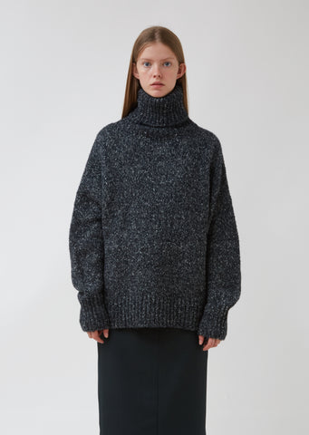 Shadow Turtleneck Sweater