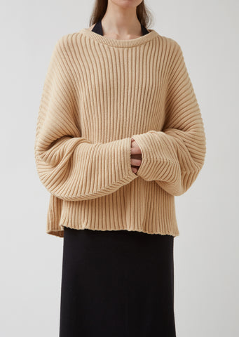 Cotton Rib Kai Sweater