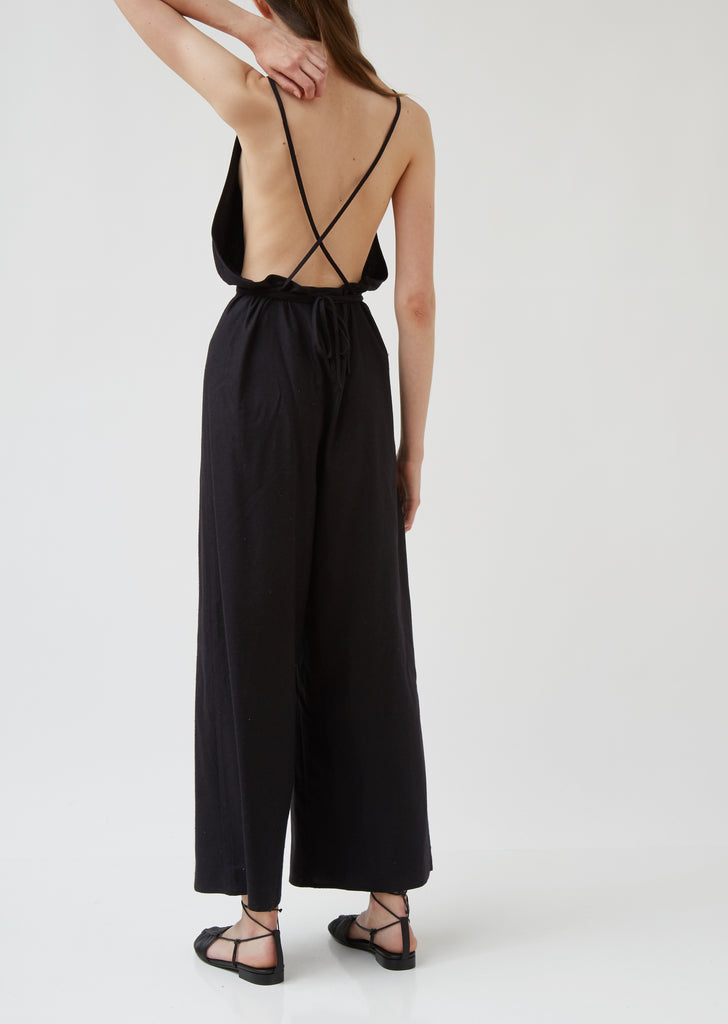 Raw Silk Otay Jumpsuit