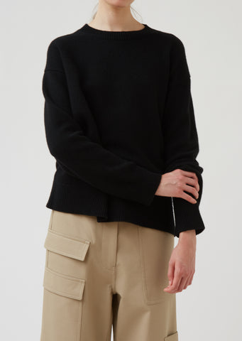 Mlla Long Sleeve Cashmere Sweater