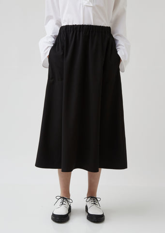 Suwon Wide Midi Skirt