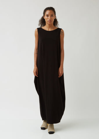 Drape Jersey Bk Dress