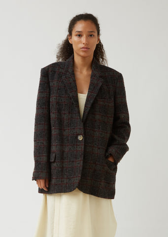Korix Plaid Blazer