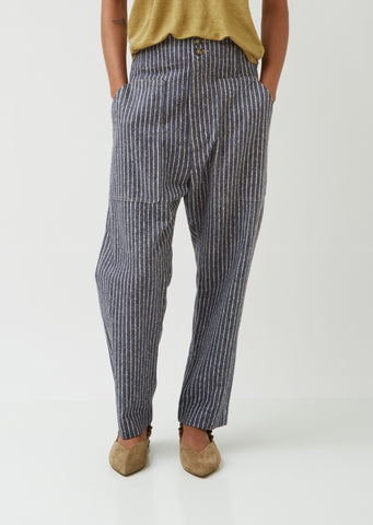 Praluni Striped Trousers