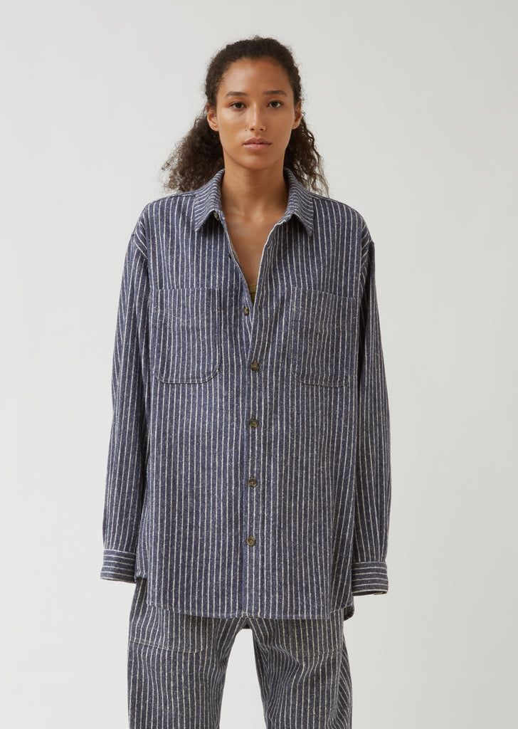 Paulie Striped Oversize Shirt
