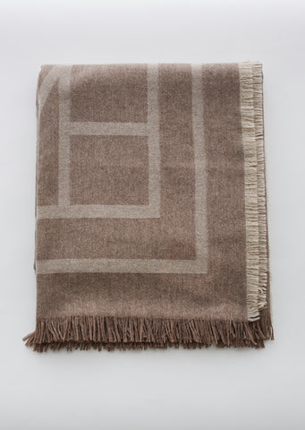 Como Wool Cashmere Scarf
