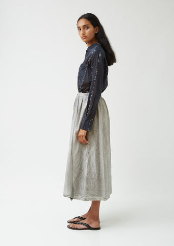 Sheer Overlay Skirt