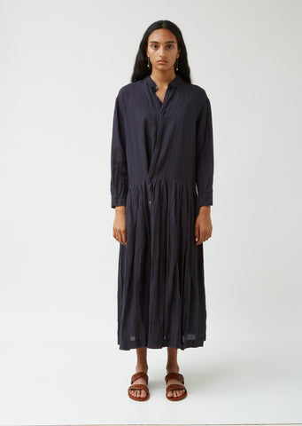 Zen Fragrance Tencel & Linen Shirt Dress