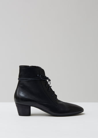 Coltello Inverno Lace Up Ankle Boots