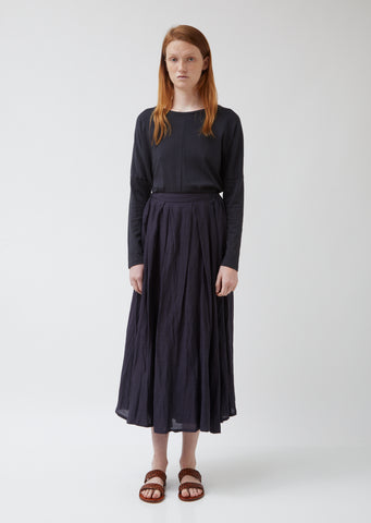 Zen Fragrance Tencel & Linen Skirt