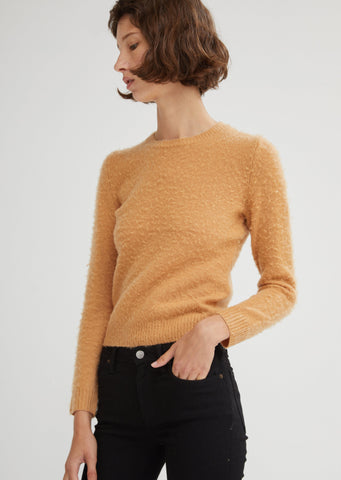 Wool Cashmere Pilled Sweater