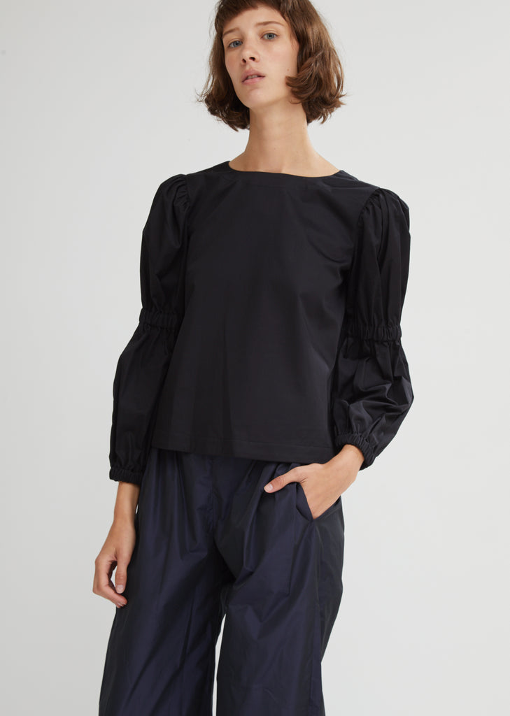 Margaret Cotton Poplin Top