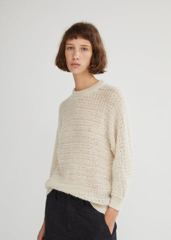Galvin Open Gauge Sweater
