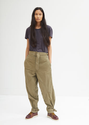 Fold Front Utility Trousers