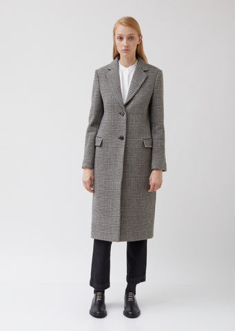 Eden Coat Itl Pdg Wool