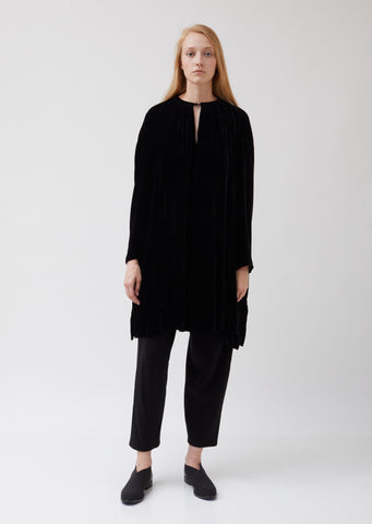 Velvet and Silk Wide Tunic
