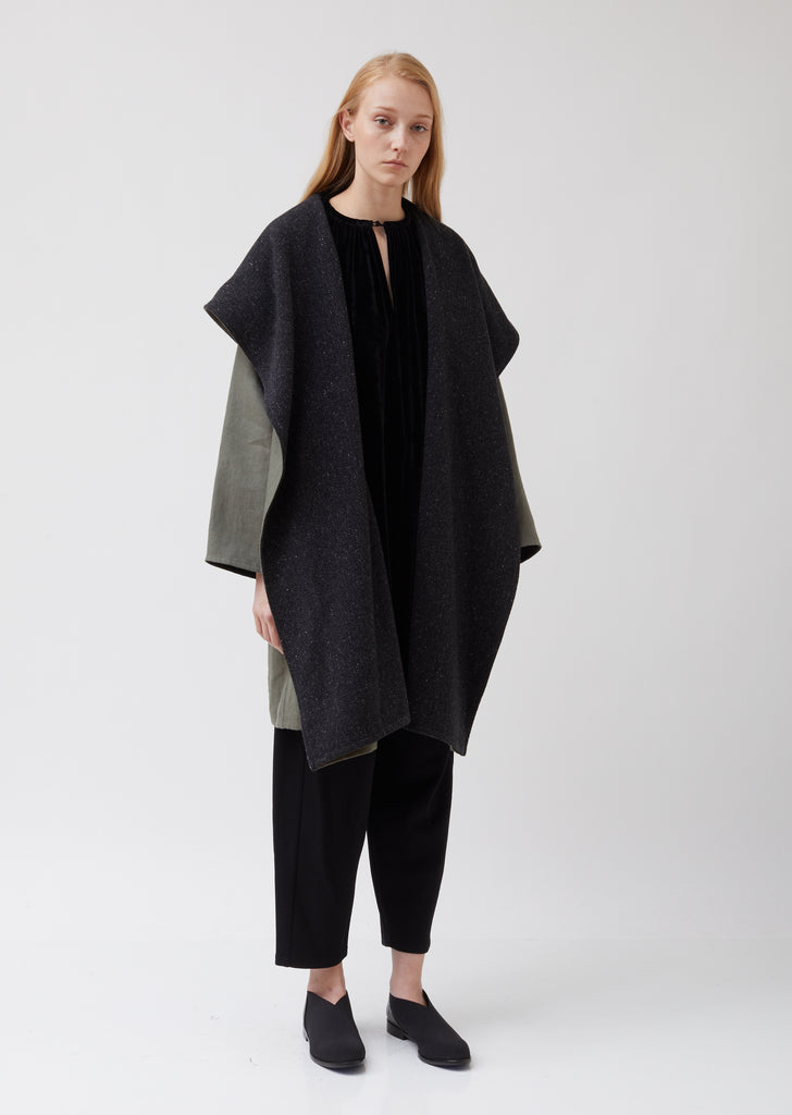 Cashmere Hooded Coat