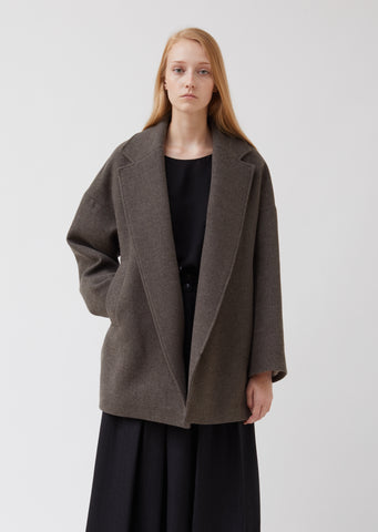 Felted Wool Oversized Jacket