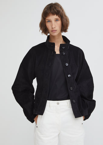 Large Sleeve Cotton Corduroy Jacket