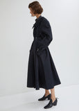 Water Resistant Cotton Twill Trench Coat