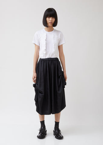 Polyester Dobby Twill Garment Treated Skirt