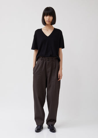 U-Tapered Wide Pants