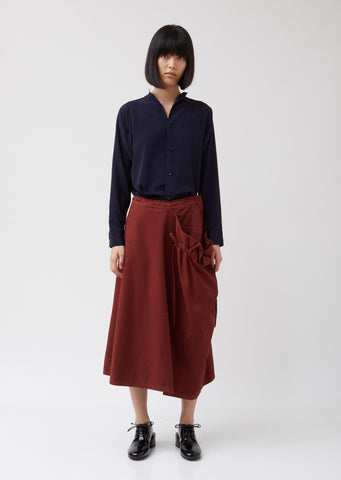 S-Gather String Skirt