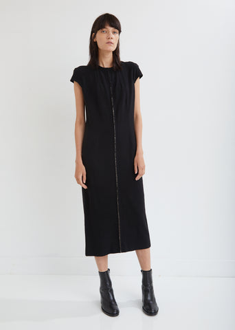 Boulevard Beaded Wool Dress