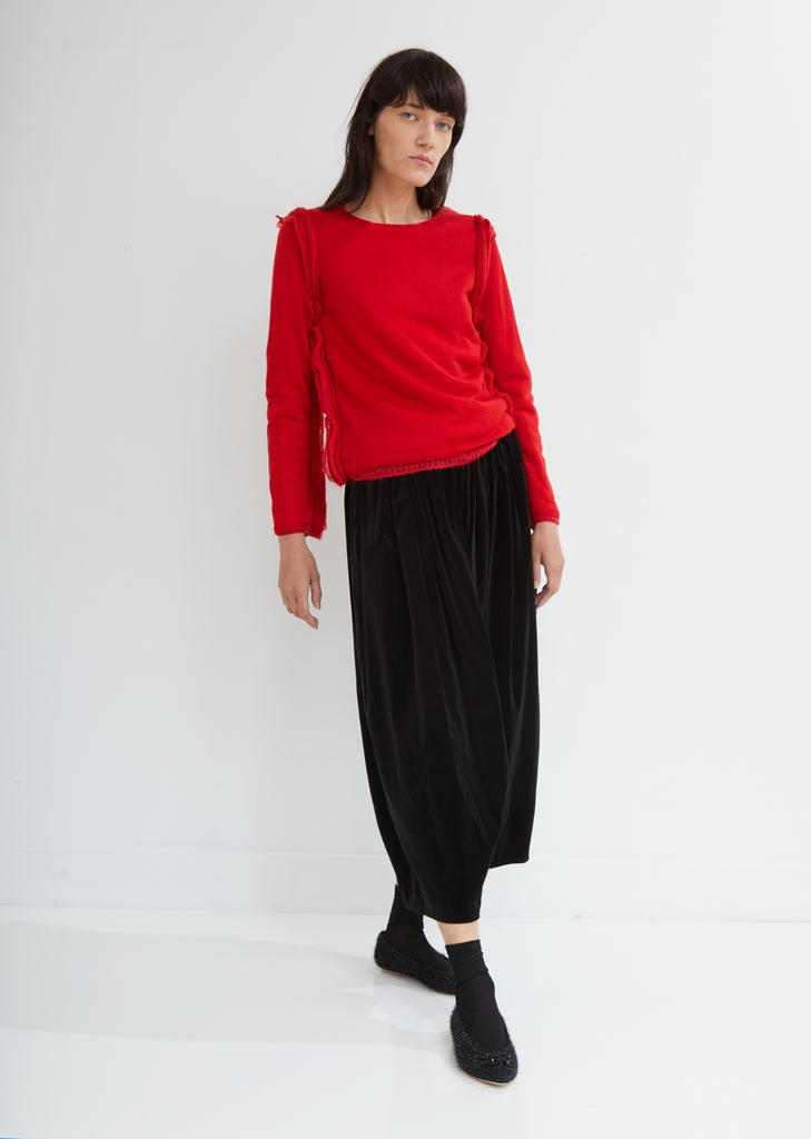 Cotton Velveteen Pants