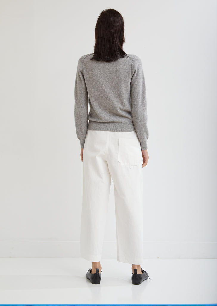 Straight Drawstring Pants