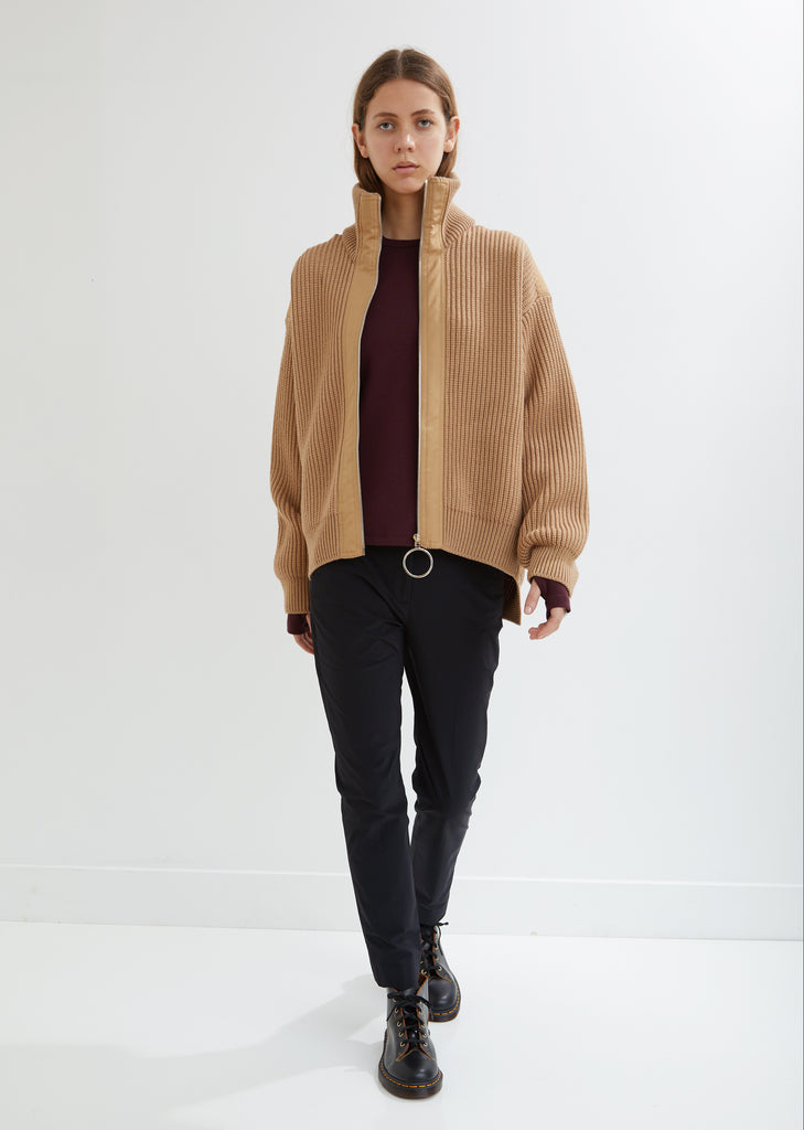 Wool Knit Jacket