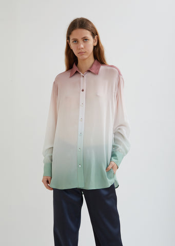 Sander Silk Dégradé Shirt