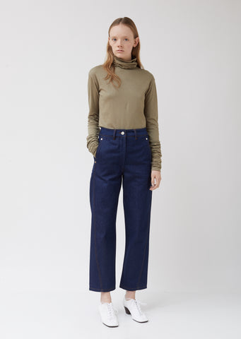 Indigo Twisted Jeans