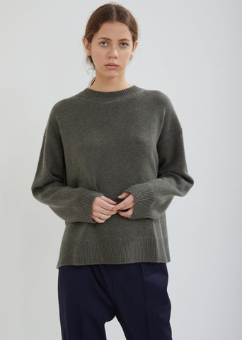 Milla Crew Neck Cashmere Sweater