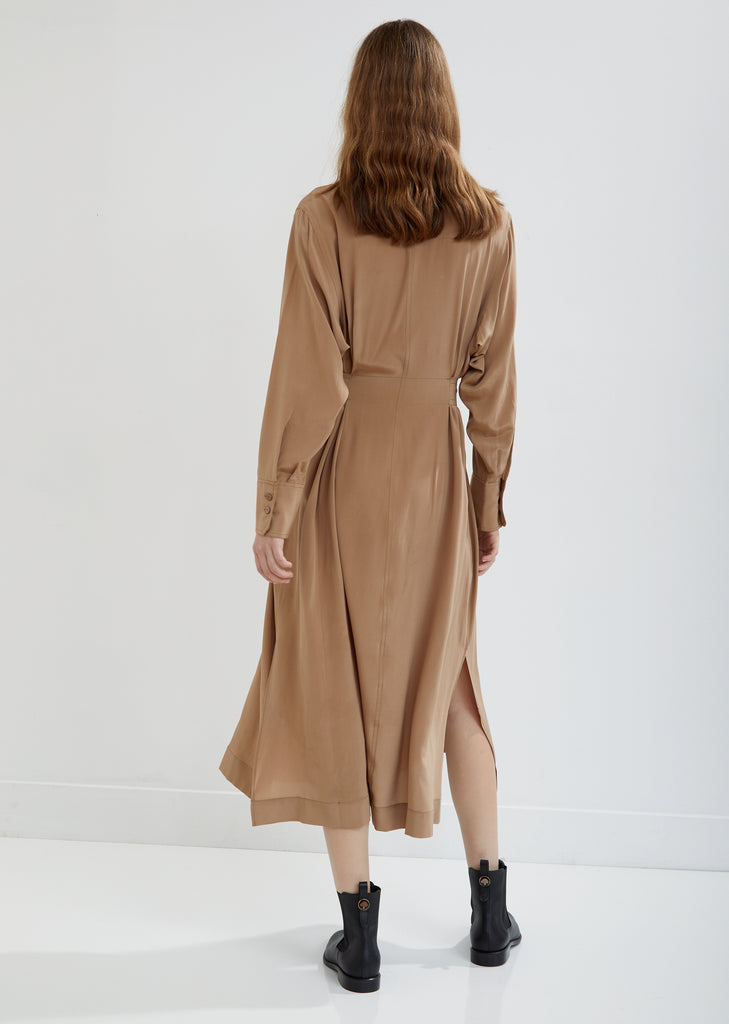 Warren Silk Shirt Dress