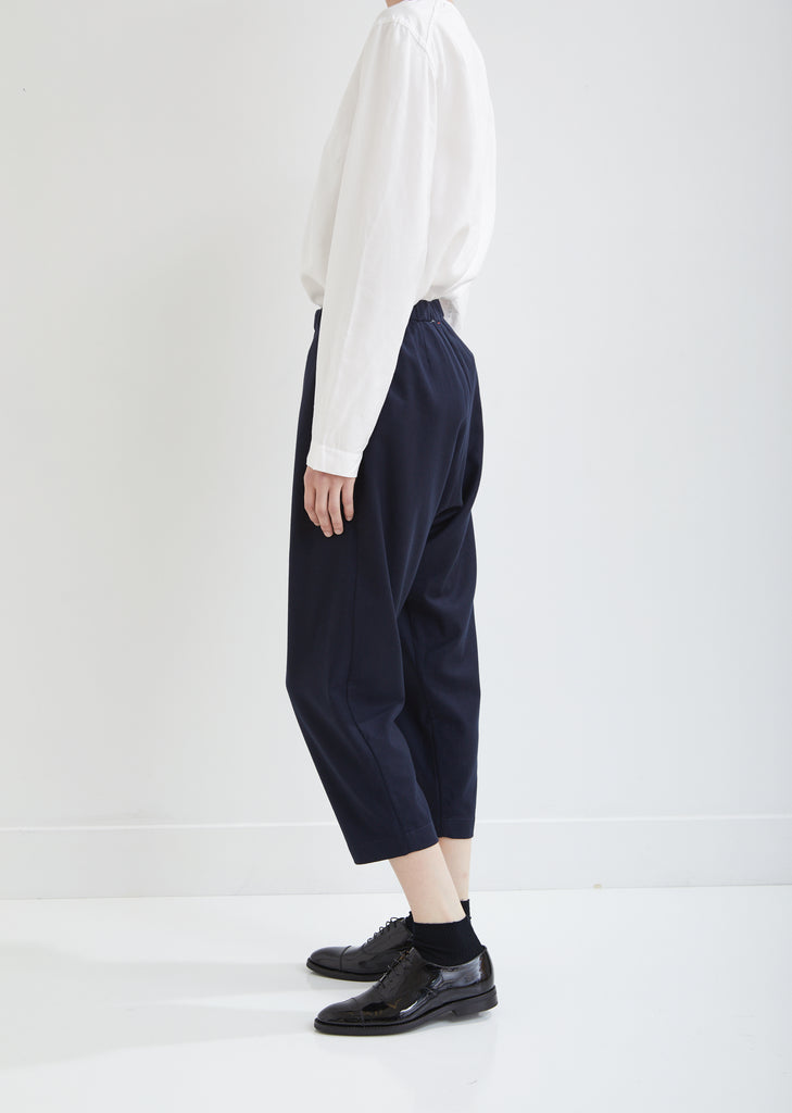 Basic Court Wool Cashmere Jogging Pants