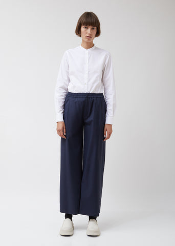 Wool Wide-Leg Trousers Shed