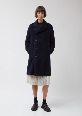 Mohair Wool Coat Sequoia