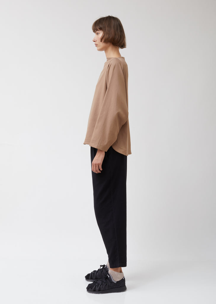 Folded Neck Top