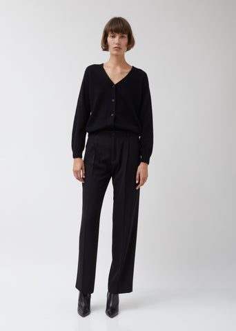 Black Suiting Soft Trousers #8