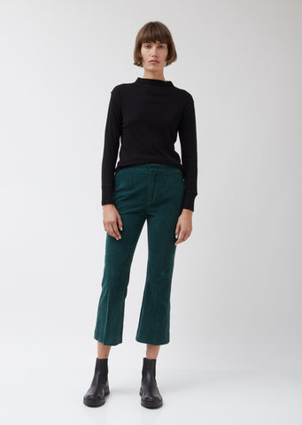 Green Corduroy Note Trousers #6